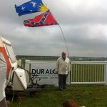 Flying the flag in Anglesey